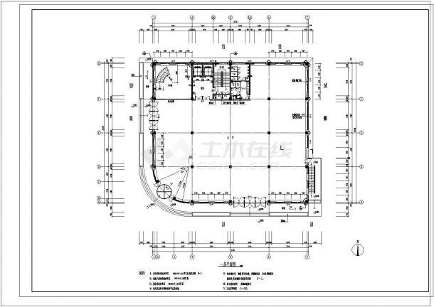 某市大型小区建筑施工图纸-图二