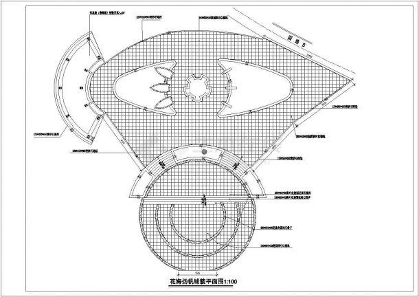 重庆某公园景观设计全套施工cad图(含设计图)-图一