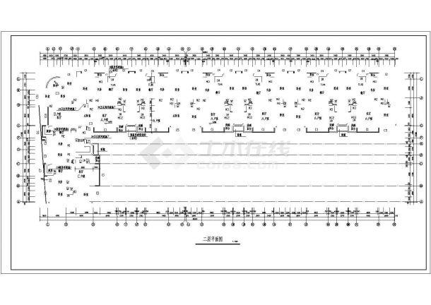 某市小区住宅建筑规划图纸-图二