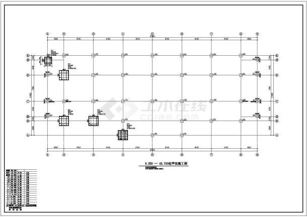 苏州某商业区商务中心多层办公楼结构全套施工图-图二
