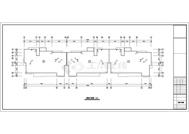 某六层居民住宅楼内生活给水排水详细方案设计施工CAD图纸-图一