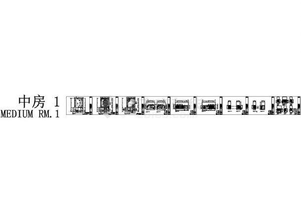 超级豪华限量版KTV包房设计施工图(含效果图)-图一