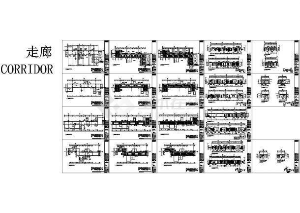 超级豪华限量版KTV包房设计施工图(含效果图)-图二