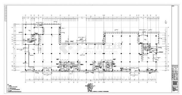 [深圳]丙类高层陶土板外墙标准生产厂房建筑施工cad图纸-图一