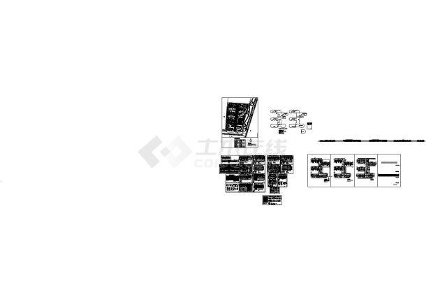 某2层框剪结构18个班实验幼儿园设计cad全套建筑施工图(含设计说明)-图二