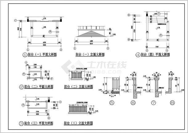 某地区欧洲风格独栋别墅方案设计施工CAD图纸(含效果图)-图一