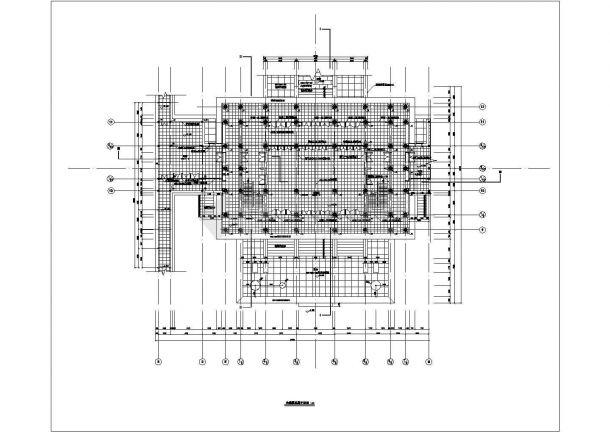 【南京】某公园大观楼古建筑全套施工设计cad图纸-图二