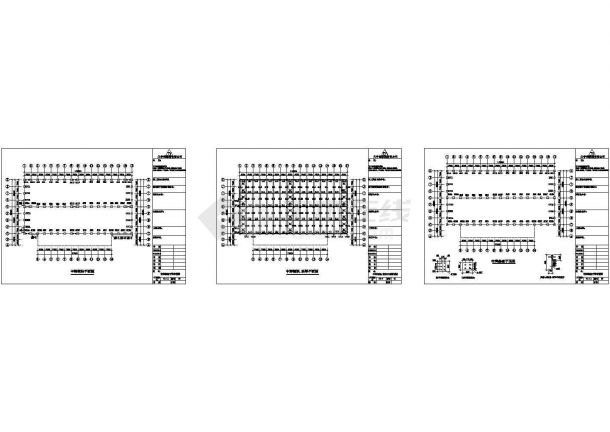 中辉公司钢结构工程CAD设计图纸-图一