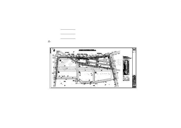 四川成都某石材公司总平CAD设计图纸-图一