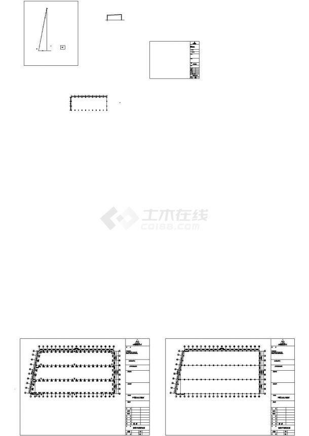 水头某石材公司工程CAD设计图纸-图一