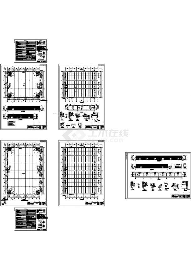 南通华都工业园设计CAD设计图纸-图一
