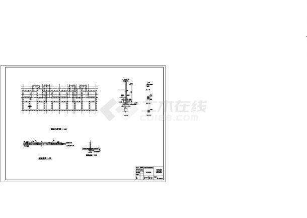 6309平米某14层阳光小区住宅楼设计cad图(含计算书,毕业设计)-图二