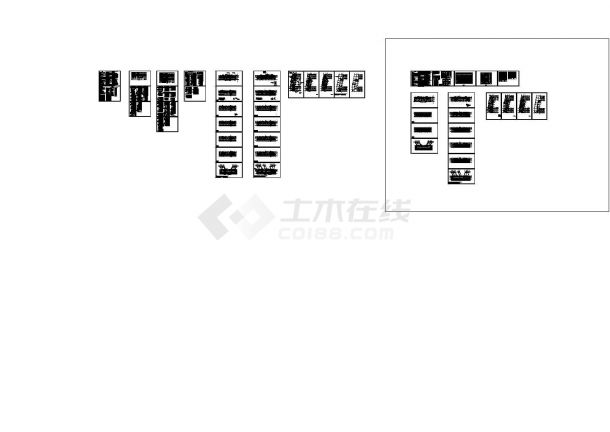 50米高 3万方公寓建筑设计--电气施工图-图一