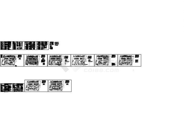 50米高 3万方公寓建筑设计--电气施工图-图二