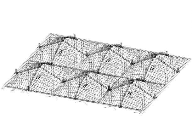 污水池膜结构图。设计极好。-图一