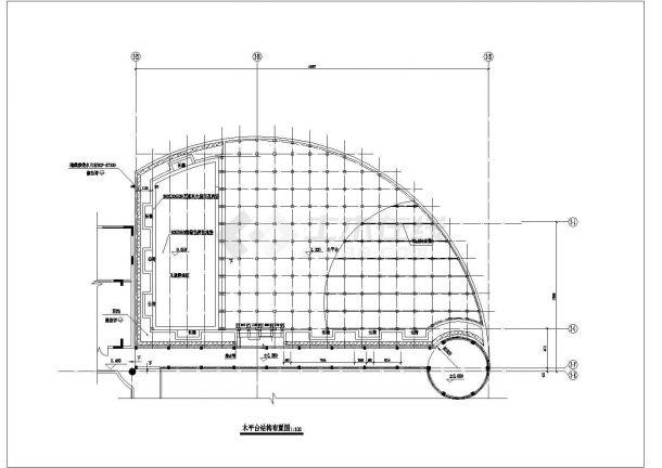 某小区住房屋顶花园建筑方案设计图-图一