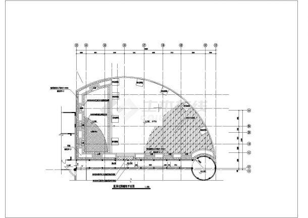 某小区住房屋顶花园建筑方案设计图-图二