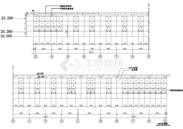 成都市天府景观广场绿化平面设计CAD施工图(含内部小品设计图)-图一