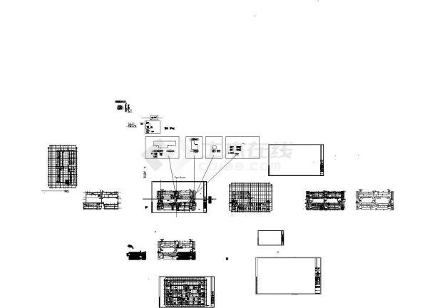 同济科技园A2楼二层火灾报警设计cad图纸-图一