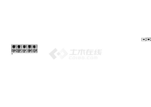 北京某星级酒店水箱间消防报警及联动系统CAD施工图-图二