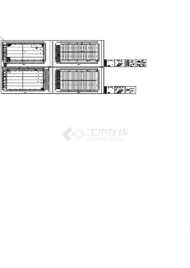 郑州某33万平国内知名食品生产基地给排水工程CAD施工图-图二