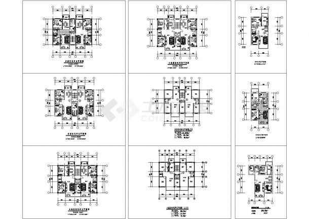 多层住宅楼建筑施工设计方案-图一