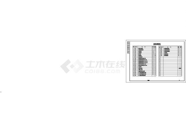 重庆江津区某54m宽双向6车道市政道路排水工程CAD施工图-图一