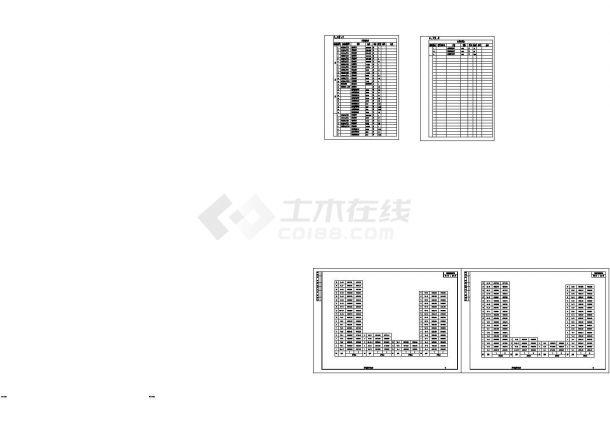 重庆江津区某54m宽双向6车道市政道路排水工程CAD施工图-图二