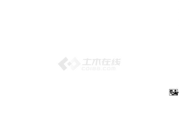 郑州某火电厂循环水泵房安装工程CAD施工图-图一