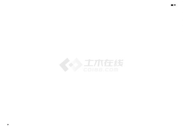 天津市某大型住宅小区工程室外管线综合铺设工程CAD施工图-图一