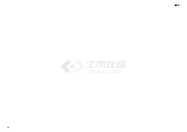 天津市某大型住宅小区工程室外管线综合铺设工程CAD施工图-图二