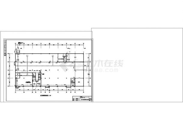 多层综合大楼散热器采暖系统cad图纸设计-图一