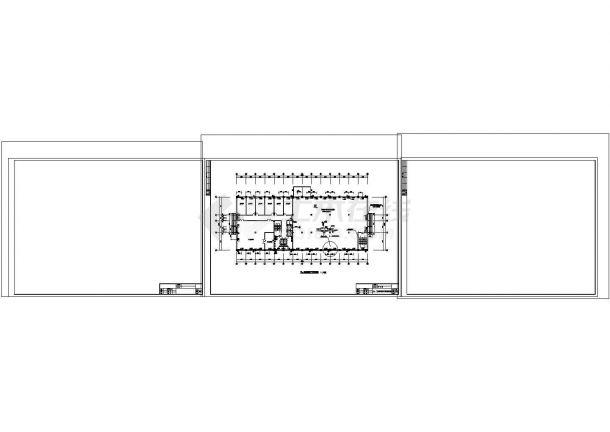 多层综合大楼散热器采暖系统cad图纸设计-图二