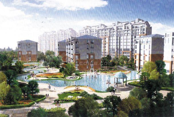 北京小区景观设计文本-图二