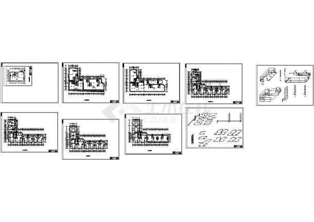 长春某综合楼采暖系统设计图纸-图二