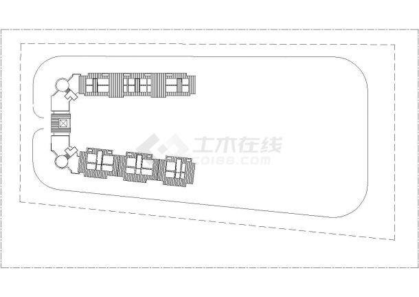 人民大会堂全套建筑施工设计cad图纸(含总平面图)-图一