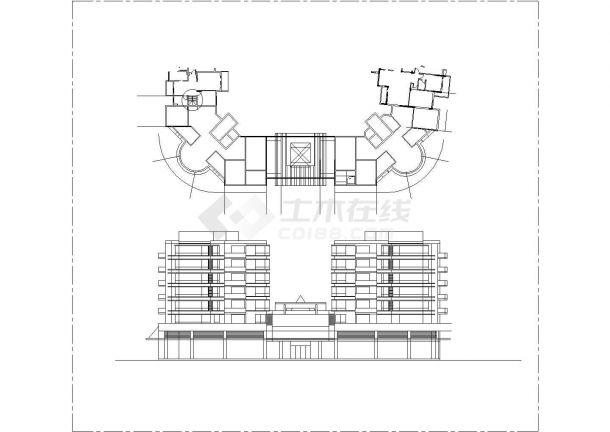 人民大会堂全套建筑施工设计cad图纸(含总平面图)-图二
