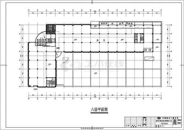 亨哈食品加工厂厂房全套施工设计cad图纸(含总平面图)-图一