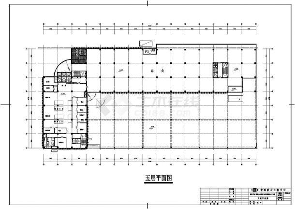亨哈食品加工厂厂房全套施工设计cad图纸(含总平面图)-图二
