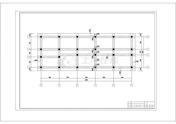 土木工程毕业设计_办公楼设计_某办公楼建筑全套毕业设计完整资料(含详细计算书、说明书)-图二
