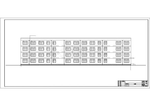 土木工程毕业设计_办公楼设计_某带构架层办公楼毕业设计完整资料(含详细计算书、任务书)-图一