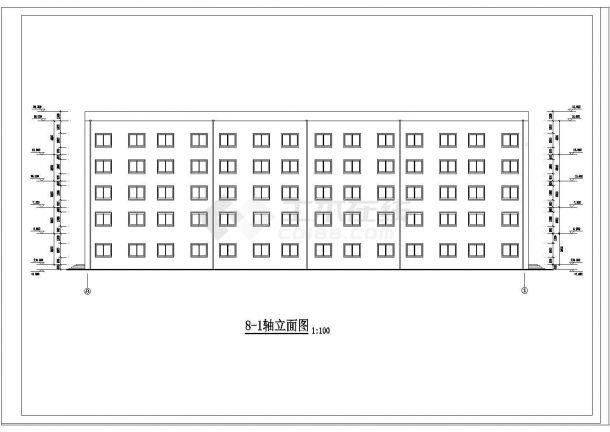 土木工程毕业设计_某框架商务综合办公大楼毕业设计完整资料(含详细计算书、任务书)-图二