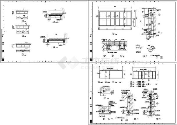内装修工程节点设计全套建筑施工图-图二