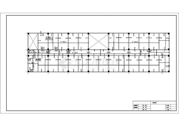 土木工程毕业设计_某框架综合办公大楼毕业设计完整资料(含详细计算书、开题报告)-图二