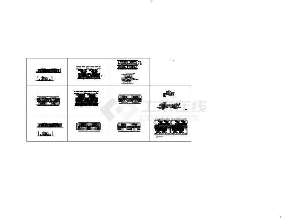 江苏省城市规划设计研究院参赛设计施工图-图一