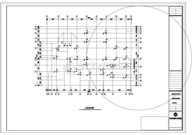三层住宅整套建筑结构水电设计施工图纸-图一