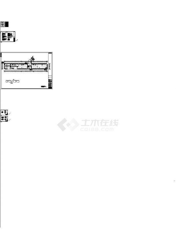 [江苏]车库通风及防排烟系统设计施工图-图一