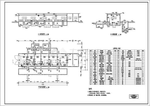 给水泵站设计_长春某水厂给水泵站设计全套施工图 - 资料下载 - 土木在线