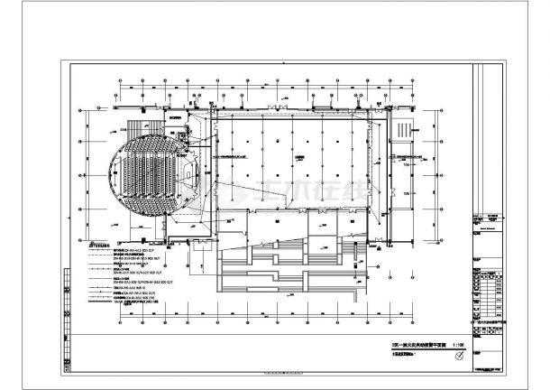 华中某科技大学全套电气设计图纸cad(含弱电图纸设计说明)-图一