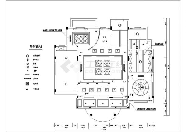 245平米2层高档单体别墅全套装修施工设计CAD图纸-图一